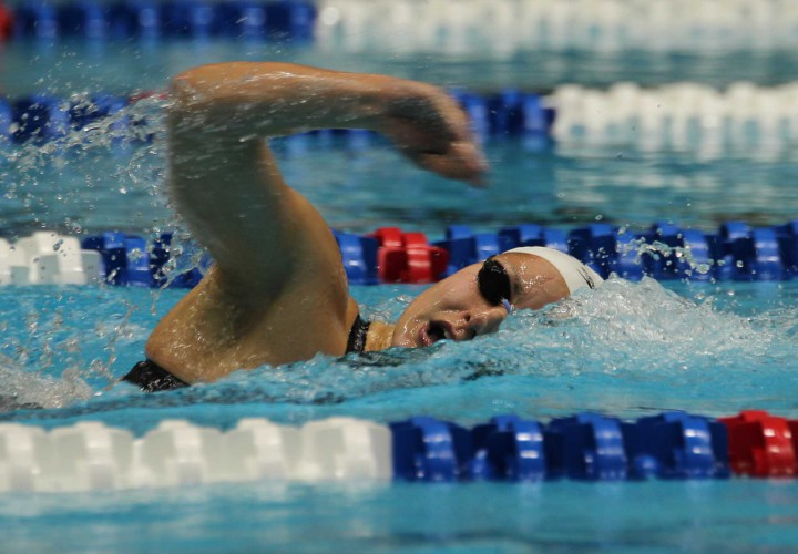 Patricia CastroOrtega Dion Dreesens Named Bluegrass Mountain Conference Swimmers of the Year