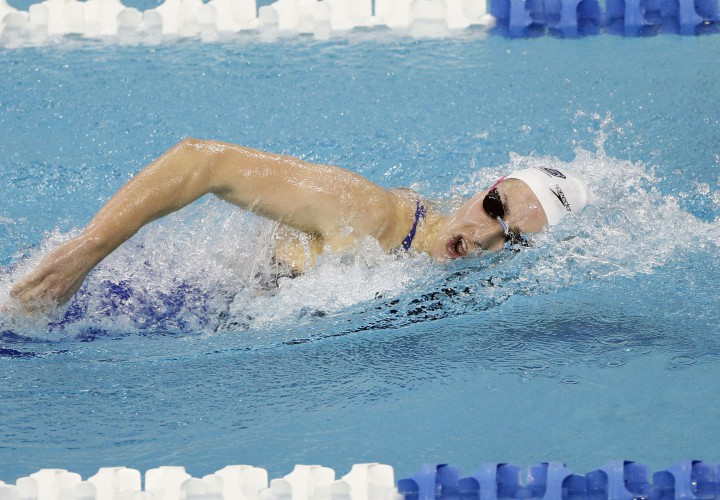 Queens Patricia Castro Ortega Claims Another NCAA D2 Record in 500 Free