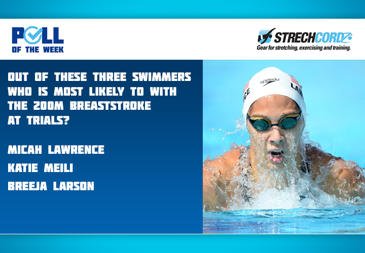 Swim Poll Of The Week Out Of These Three Swimmers Who Is Most Likely To Win The Womens 200M Breaststroke At Trials