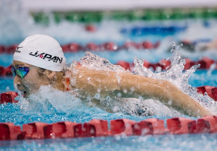 Rikako Ikee Downs 100 IM World Junior Record at Tokyo World Cup