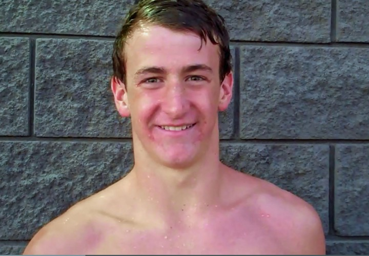 Ryan Hoffer Sets NAG Record in 1718 100Yard Freestyle