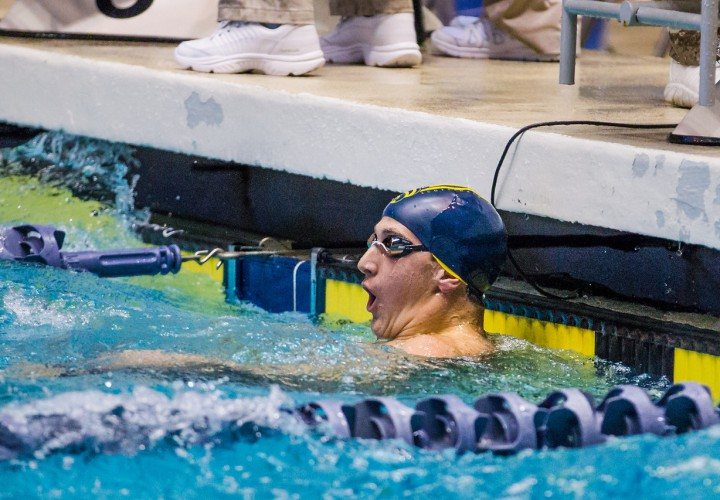 Swimming World Performance Of The Week Flashback To Ryan Hoffers 100 Freestyle