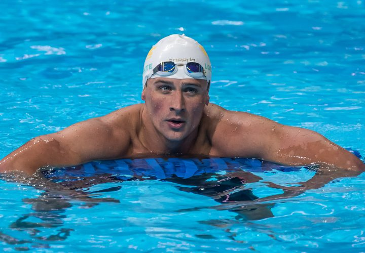 USA Swimming Trials Day 4 Finals Heat Sheets Ryan Lochte Drops 100 Free Semifinal
