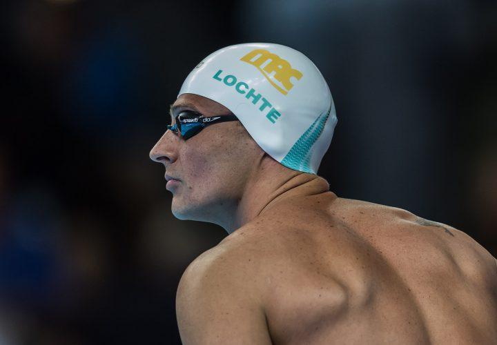 Ryan Lochte Rises to 8th in World in 200 IM Prelims