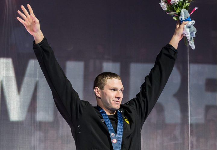 USA Swimming Introduces 2016 Olympic Team Ryan Murphy