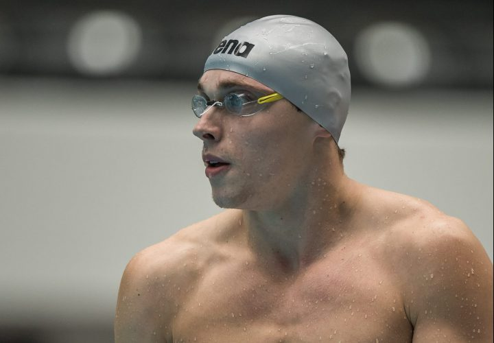 Santo Condorelli Entered in 100 Butterfly After DQ at Trials