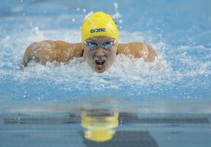 Sarah Sjostrom Scares World Record in 100 Fly With 5568