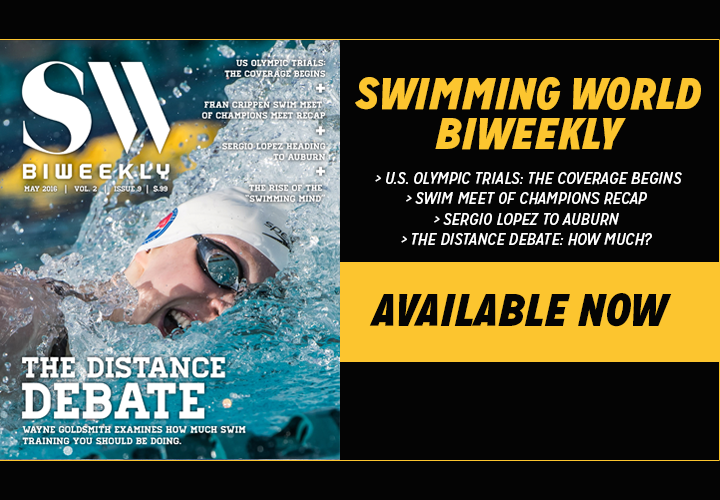 Swimming World Biweekly The Distance Debate Now Available For Download