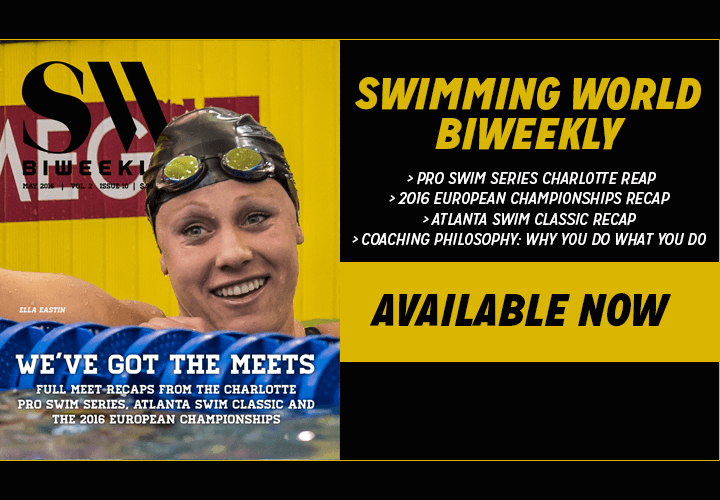 Swimming World Biweekly Weve Got The Meets Available Now For Download