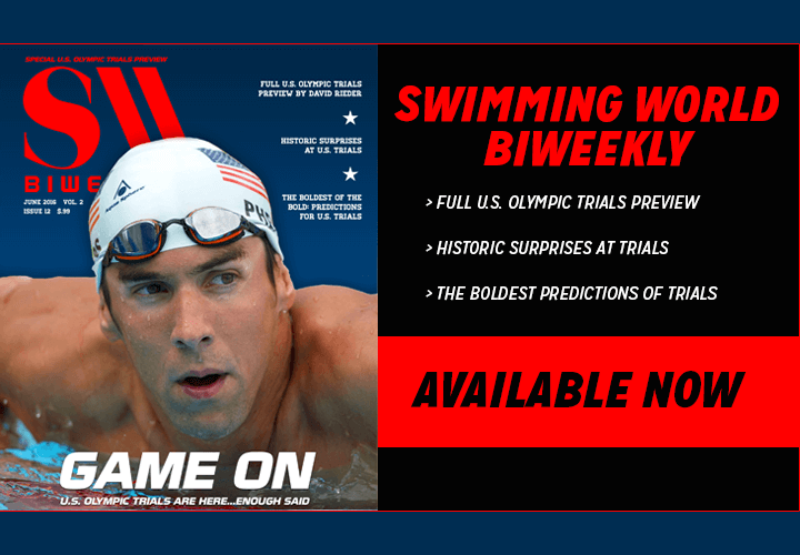 Swimming World BiWeekly Game On Available Now For Free Download