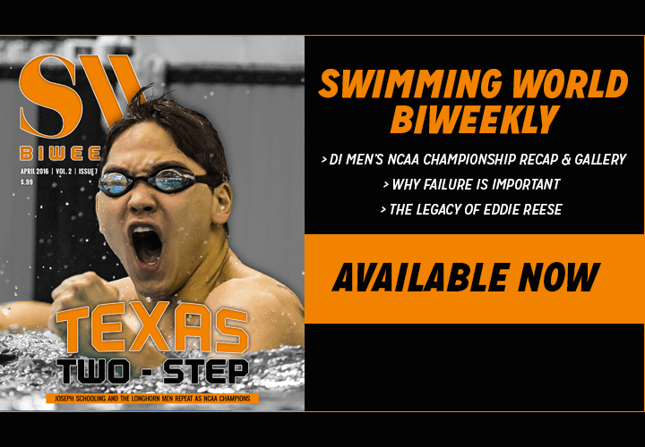 Swimming World Biweekly The Importance Of Female Coaches