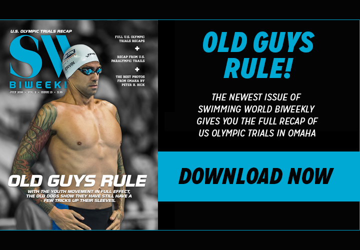 FREE Swimming World Biweekly USA Olympic Trials Analysis and Photos Download Now