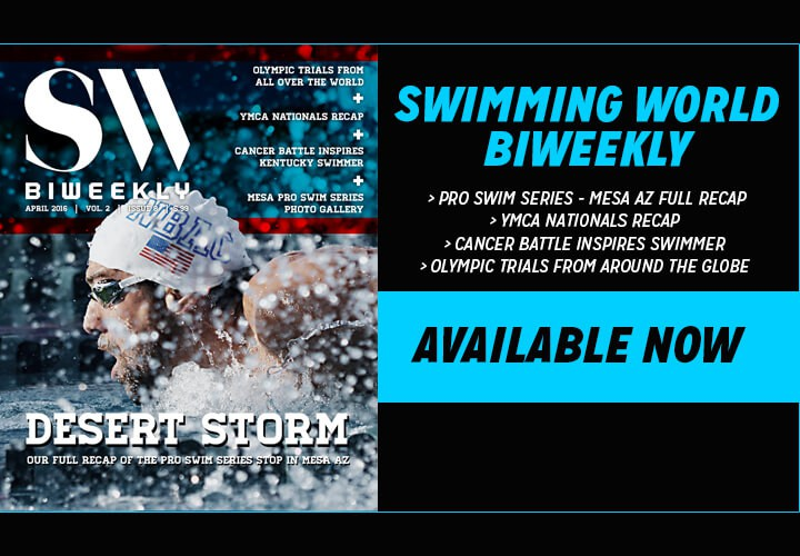 Swimming World Biweekly Top Stories About Olympic Hopefuls Available Now