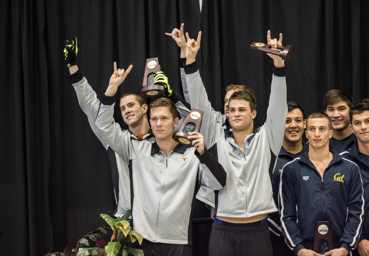 Swimming World Presents The Mens NCAA Preview Texas Even Tougher