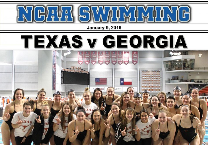 2016 Texas vs Georgia Dual Meet Aringo Photo Gallery