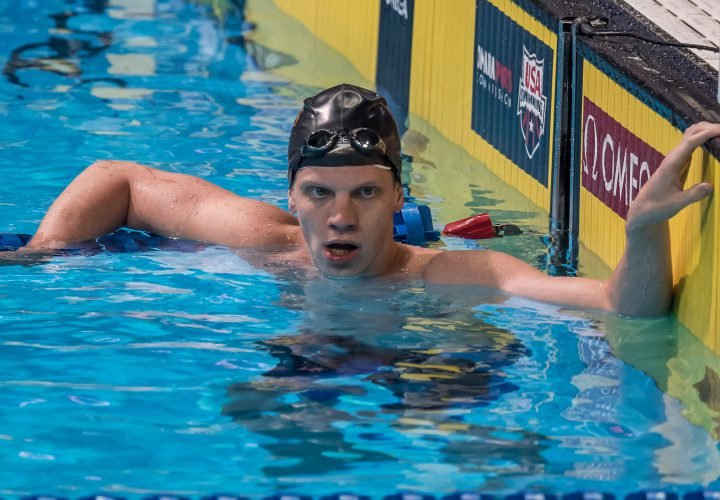 Townley Haas Tops Loaded 200 Free Field