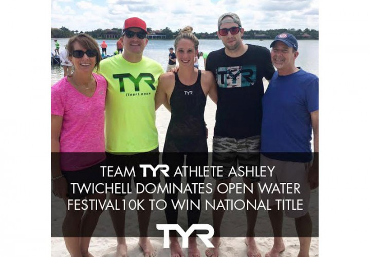 Team TYR Athlete Ashley Twichell Dominates Open Water Festival 10K to Win National Title