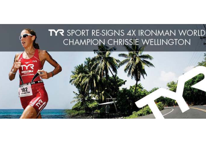 TYR Sport is Proud to Announce the Resigning of 4X IRONMAN World Champion Chrissie Wellington