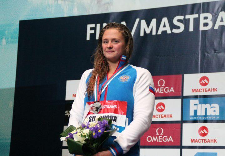 Vitalina Simonova Given 4 Year Suspension for Doping
