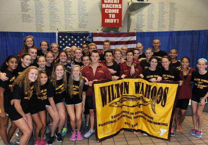 Karl Bishop Clocks Y National Record Hickory Women Wilton Men Win