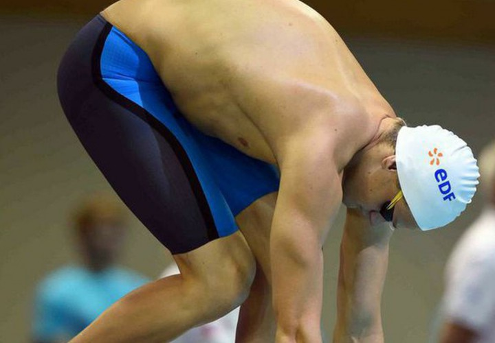 Yannick Agnel Upends Jeremy Stravius in 200 Free at 2015 French Short Course Championships