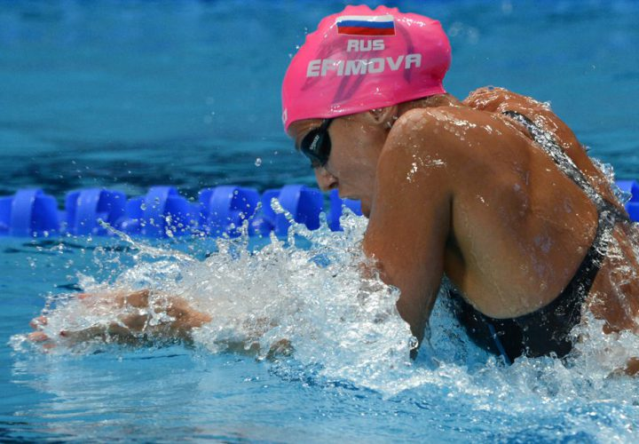 Yuliya Efimova Returns to Competition in Los Angeles